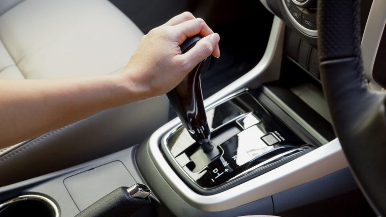 Changing Gear In Automatic Car