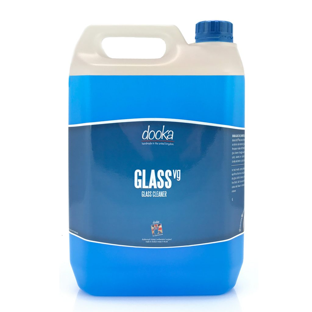 dooka GLASS vg glass cleaner – 5LT