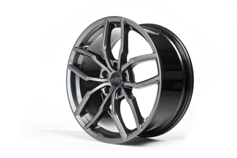Racingline R360 8.5J x 19inch Alloy Wheels – Gunmetal Grey
